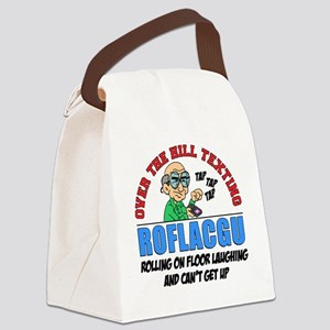 ROFLACGU Shirt Canvas Lunch Bag
