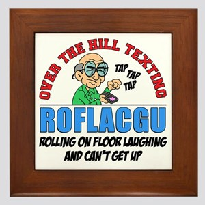 ROFLACGU Shirt Framed Tile