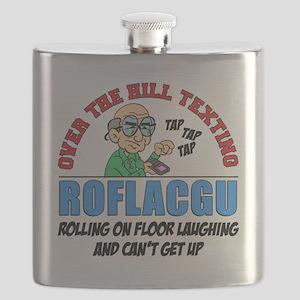 ROFLACGU Shirt Flask