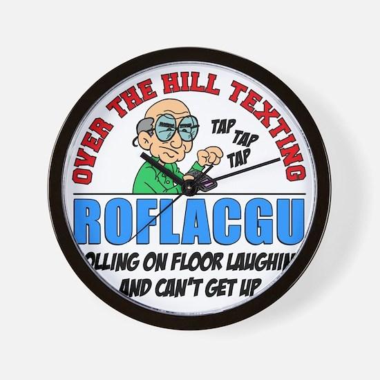 ROFLACGU Shirt Wall Clock