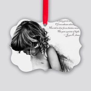 The Fairy Poet Picture Ornament