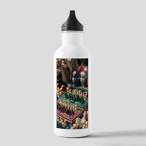 Szentendre: Hungarian  Stainless Water Bottle 1.0L