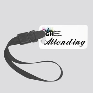 Attending Hat Small Luggage Tag