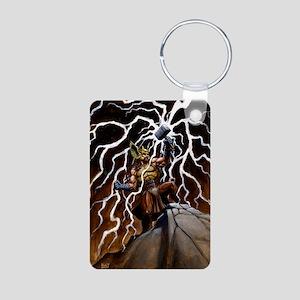 Cafe Print THOR SKY GO Aluminum Photo Keychain