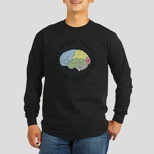 Go With It Long Sleeve Dark T-Shirt
