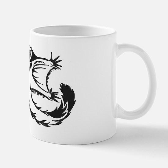 flying tribal Mug