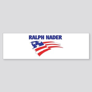 Fun Flag: RALPH NADER Bumper Sticker