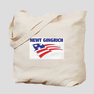 Fun Flag: NEWT GINGRICH Tote Bag