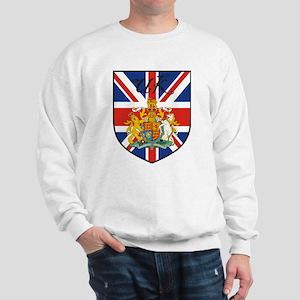 UK Flag Crest Shield Sweatshirt