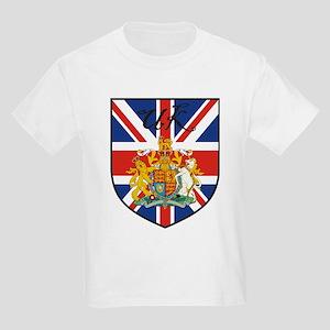 UK Flag Crest Shield Kids T-Shirt