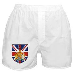 UK Flag Crest Shield Boxer Shorts