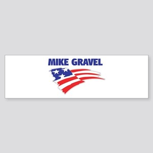 Fun Flag: MIKE GRAVEL Bumper Sticker