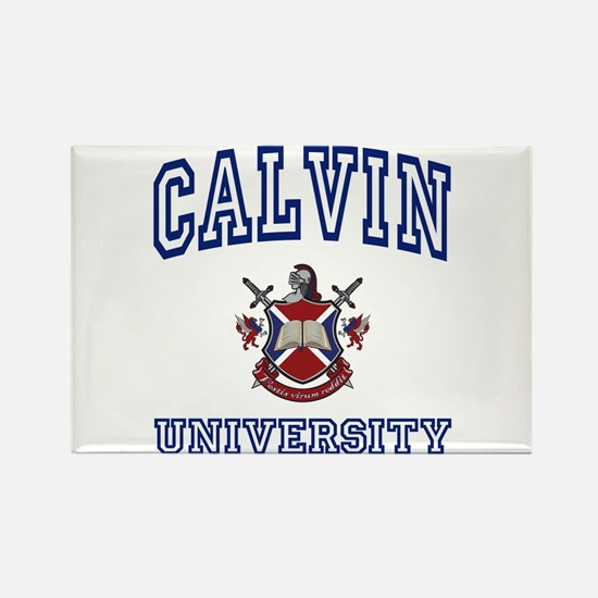 CALVIN University Rectangle Magnet
