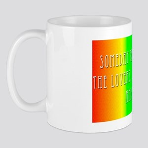 rainbow bumpersticker Mug