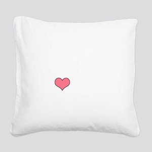 BARK2 Square Canvas Pillow