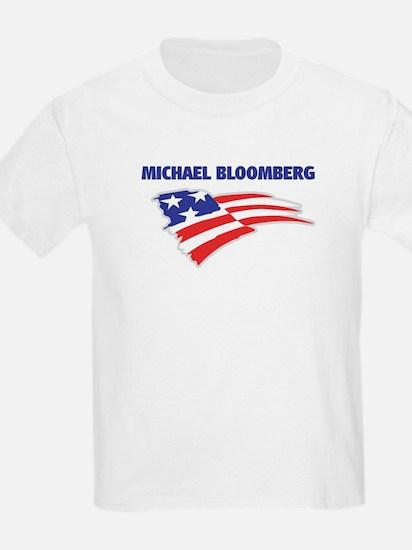Fun Flag: MICHAEL BLOOMBERG Kids T-Shirt