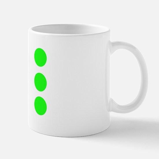 goGreenNonStop2 Mug