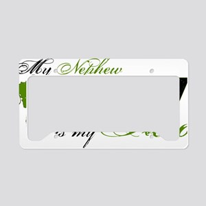 nephew License Plate Holder