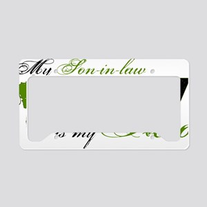 son law License Plate Holder