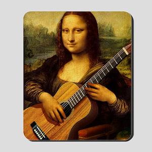 mona-guitar-LG Mousepad