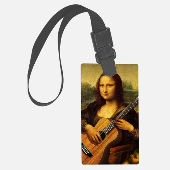 mona-guitar-LG Luggage Tag