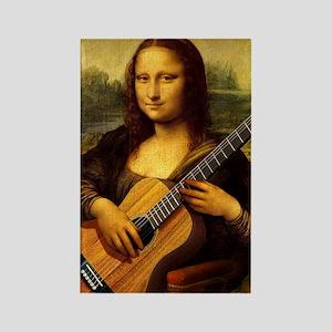 mona-guitar-LG Rectangle Magnet