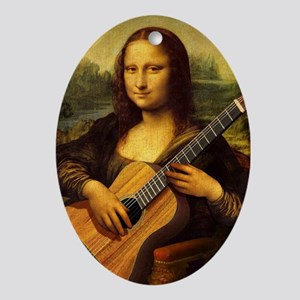 mona-guitar-LG Oval Ornament