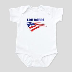 Fun Flag: LOU DOBBS Infant Bodysuit