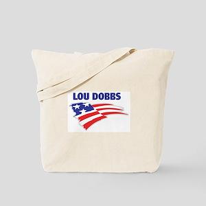 Fun Flag: LOU DOBBS Tote Bag