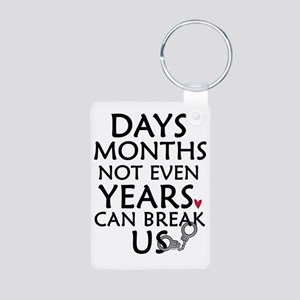 Days, Months - 10 inches Aluminum Photo Keychain