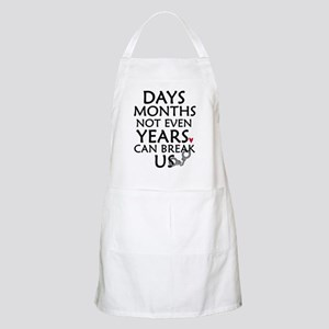Days, Months - 10 inches Apron