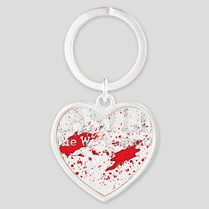 Castle_Bloody-Write_dark Heart Keychain