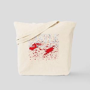 Castle_Bloody-Write_dark Tote Bag