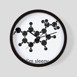Sleepy Serotonin Wall Clock