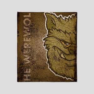 11x17_print_werewolfgray_txt Throw Blanket