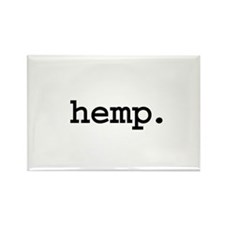 hemp. Rectangle Magnet (100 pack)