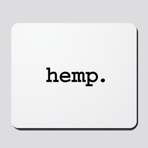 hemp. Mousepad