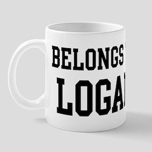 Belongs to Logan Mug