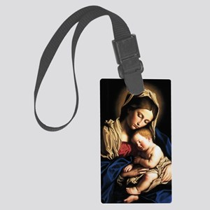 virgin-mary-0108 Large Luggage Tag
