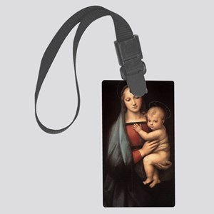 virgin-mary-0104 Large Luggage Tag