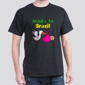 Made In Brazil Girl Dark T-Shirt