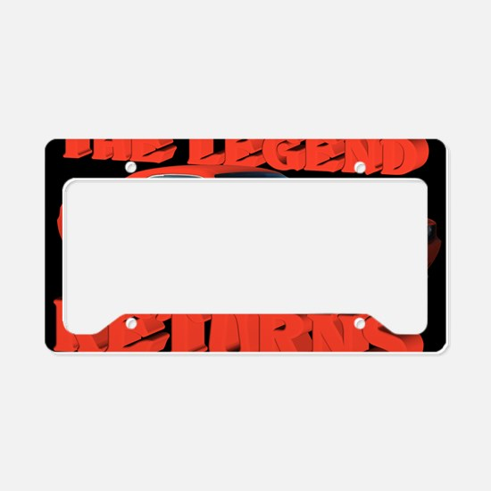 AC96 R CP-MOUSE License Plate Holder