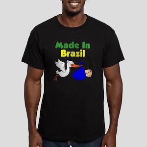 Made In Brazil Boy Men's Fitted T-Shirt (dark)