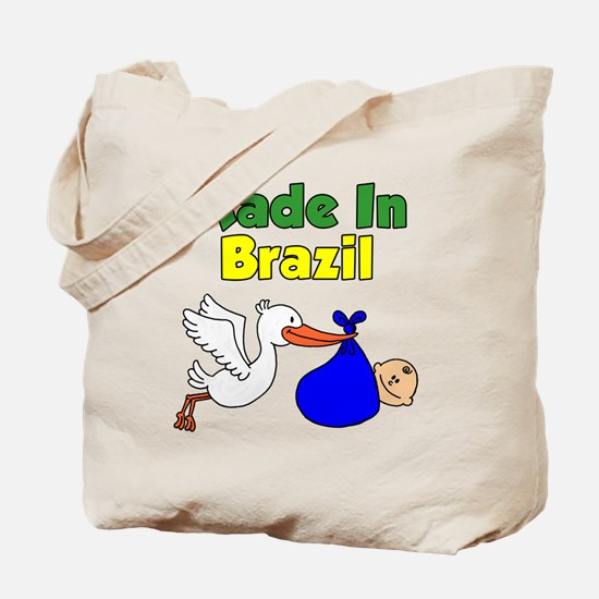 Made In Brazil Boy Tote Bag