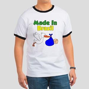 Made In Brazil Boy Ringer T