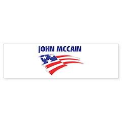 Fun Flag: JOHN MCCAIN Bumper Bumper Sticker