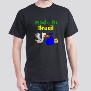 Made In Brazil Boy Dark T-Shirt