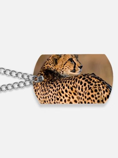 Cheetah4-large Dog Tags