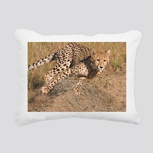 Cheetah cub Rectangular Canvas Pillow