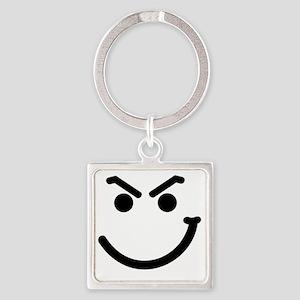 HANDSMIRK Square Keychain